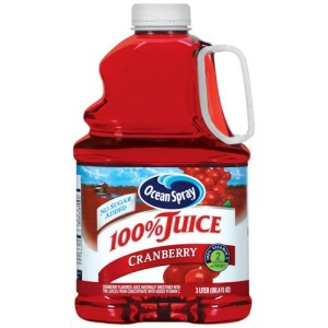 This is not 100% cranberry juice. It's 100% Juice Cranberry. Which of course is entirely different. :-(