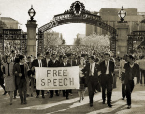 Mario Savio and FSM - Sather Gate, UC Berkeley, November 20, 1964